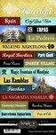 Scrapbook Customs World Collection Spain Cardstock Stickers Explore - Spain Scrapbooking