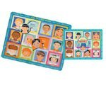 Friends Say Hello! 12 Piece Multicultural Puzzle