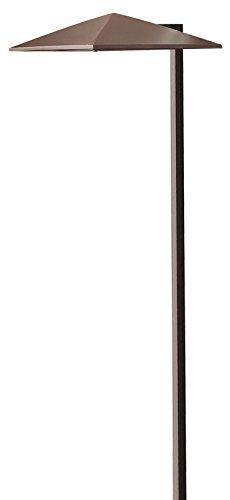 Hinkley Lighting 1561AR 7-1/2-Inch Width 21-Inch Height Harbor Path Light, 18 Watt T5 Wedge Base Light Bulb, Anchor Bronze