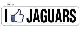 Lancy's Artwork I Like JAGUARS - 22'' Sticker Graphic - Personalized Sticker Custom Sticker Street Sign Graphic by Lancy's Artwork