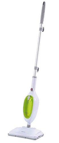 Selecline 865356 Limpiador a vapor portátil 0.3L 1300W Verde, Color blanco limpiador a vapor