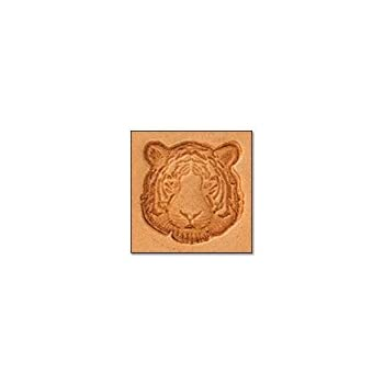 Amazon.com: Tandy Leather Craftool Mini 3-D sello tigre ...