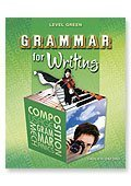 Grammar Writing Tests - Grammar for Writing Test Booklet (Level Green) Grade 11