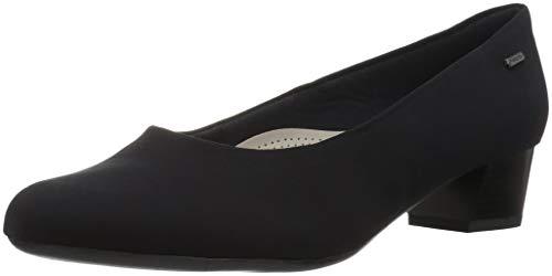 ARA Women's Niva Pump, Black Fabric, 6.5 Wide UK (9 US)