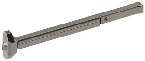 Sprayed Aluminum Finish 36 Length Hager Companies 115718 Hager 4700 Series Stainless Steel//Zinc Grade 2 Standard Duty Rim Type Fire Rated Exit Device 36 Length