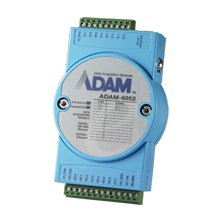 Advantech ADAM-6052-D DI/O Module, Isolated, Digital, 16 Channel, 8 Inputs, 8 Source Outputs, Modbus TCP