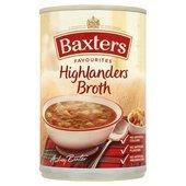 Baxters Favourite Highlander Broth Soup 400G