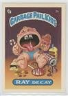Ray Decay (one star back) (Trading Card) 1985 Topps Garbage Pail Kids Series 1 - [Base] #2b.1 ()