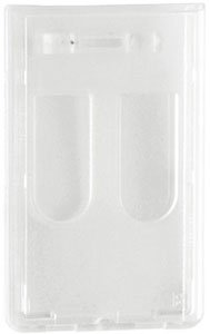 Access Card Dispenser - Frosted Molded-Polycarbonate Access Card Dispenser (100pk)