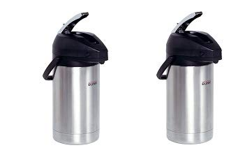 BUNN 32130.0000 3.0-Liter Lever-Action Airpot, Stainless Steel (2-(Pack))