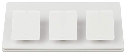 Lutron Caseta Wireless Triple-Pedestal for Pico Remote, L-PED3-WH, White