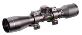 TRUGLO 4x32 Compct Crossbow Scope w/rings Rings, Black by TRUGLO