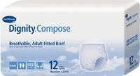 Dignity Compose Breathable Adult Briefs - Medium 96/cs (Booster Top Pad Liner)