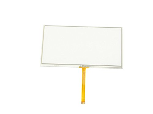 Price comparison product image NJYTouch 5inch 4 Wire Resistive Touch Panel Digitizer Film to Glass 117.3x71.6mm GPS LCD Screen