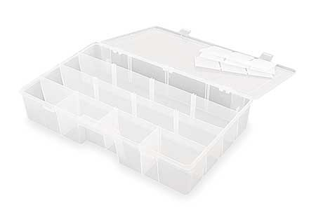 Adjustable Compartment Box, 16-1/2″ W x 9-3/4″ L x 3-1/4″ H