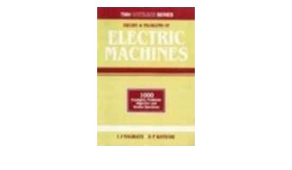 Electrical Machines Nagrath Kothari Pdf