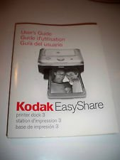 The Kodak Easyshare Series 3 Printer Dock 3 User's Guide
