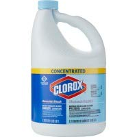 Concentrated Germicidal Bleach, Regular, 121oz Bottle, 3/carton