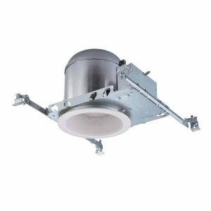 Commercial Electric 6 in. Recessed Lighting Housings and Trims (6-Pack)