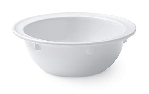 G.E.T. Enterprises DN-313-W-EC 13 oz. Rimmed Bowl, Supermel, White (Pack of 4)