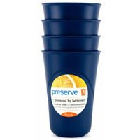 Everyday Cup, Midnight Blue 16 oz by Preserve (Pack of 2)