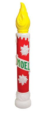 General Foam C5030ac Blow Molded Noel Candle, ()
