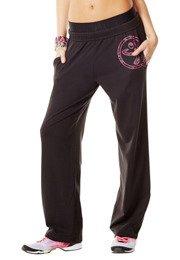 Zumba Jammin' Jersey Pants (Medium, Sew Black)