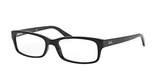Ray-Ban RX5187 Eyeglasses Shiny Black 52mm from Ray-Ban