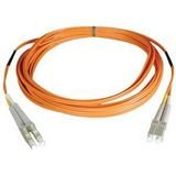 New - 5M DUPLX MMF CABLE LC/LC 50/125 FIBER - N520-05M