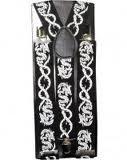 Dragon Suspenders Gothic Emo Punk Rocker Unisex