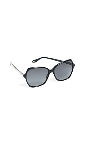 Givenchy Women's Oversized Square Sunglasses, Black/Dark Grey Gradient, One - Oversized Givenchy