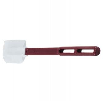 Vollrath 52026 16.5'' High Heat Red Scraper Rubber Spatula, 6 Pack by Vollrath
