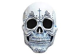 Adult Mexican Catrin Dia De Los Muertos Mask]()