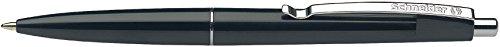 Schneider Office Ballpoint Pens, Click-Top, M, Black, Colour Of Barrel: Black Schneider Top Ball