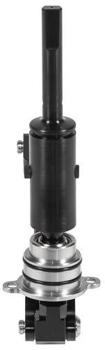Hurst 3916047 Billet/Plus Shifter W/O Knob (use stock knob) Manual Transmission Shifter Assembly Billet/Plus Shifter W/O Knob