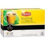 Lipton Green Smooth K Cup Packs