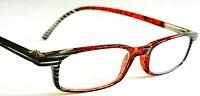 """(4 PAIR +BONUS) Foster Grant """"GOSSIP""""+1.25 Plastic Frame Reading Glasses -H20- + + FREE BONUS CLEANING CLOTH"""