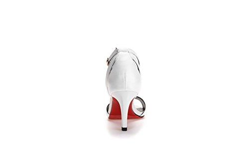 White Ballerine 35 EU AN DIU01054 Donna Bianco vIx5q7