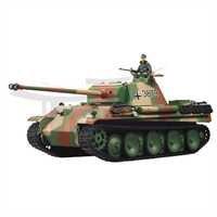 Heng Panzer Long RC Panzer Heng PANTHER Ausf. G Schußfunktion Tarnfarben c3045f