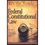 Cases and Materials on Federal Constitutional Law, Thomas H. Odom and Lee J. Strang, 1422422070