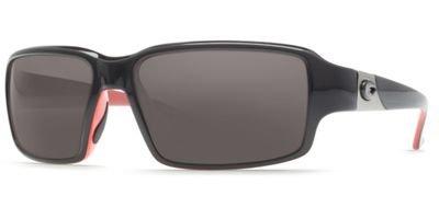 Costa Del Mar - Peninsula - Black/Coral Frame-580 Gray Poly Polarized - Sunglasses Peninsula Costa