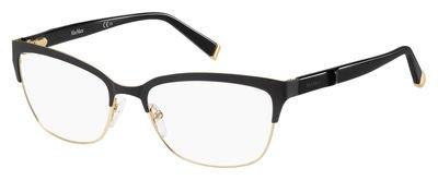 Max Mara - MM 1264, Cat Eye, steel, women, BLACK GOLD(D16 A), - Mara Eye Frames Max Cat