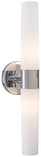 Price comparison product image George Kovacs P5042-077,  Saber,  2 Light Bath Fixture,  Chrome