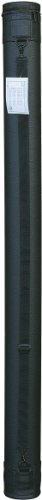 Tran Art Carry Tube, 3-1/2 by 48-Inch, Leather Grain Black