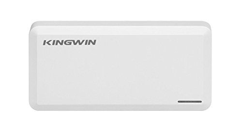 Kingwin SSD Hard Drive Enclosure USB 3.1 [Gen 2] USB C for SATA Based M.2 NGFF B / B+M Key Dual SSD [RAID].  Up to 10 Gbps Transfer Speed, Support UASP, Hot Plug & Play, LED For Access & Power by Kingwin (Image #1)
