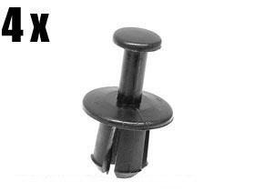 (BMW expanding RIVET Air Shroud int Trim Aux Fan (x4))