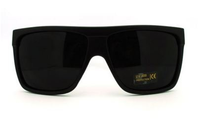 c4870906f34 Amazon.com  Mens Sunglasses Unique 80 s Oversized Flat Top Square ...