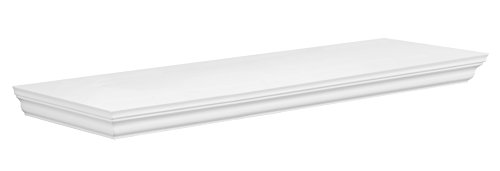 Intertrade 1438 Aura 60 Regal MDF, 60 x 3.8 x 19.5 cm, weiß