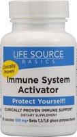 Notions de base Source de Vie Activateur du système immunitaire - 500 mg - 60 Capsules