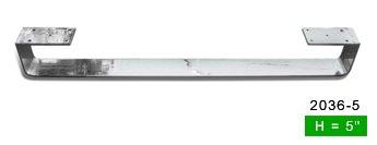 Alpha Furnishings New Beautiful Long Chrome Leg 36 inch,1PC